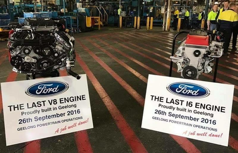 LAST FORD ENGINES
