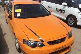 WRECKING 2007 FORD BF MKII XR6 TURBO FOR PARTS ONLY
