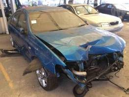 WRECKING 2003 FORD BA FALCON XR6 TURBO FOR PARTS ONLY