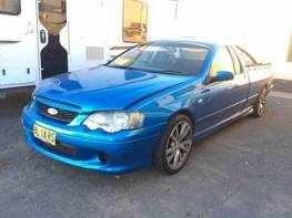 WRECKING 2003 FORD BA FALCON XR6 TURBO UTE