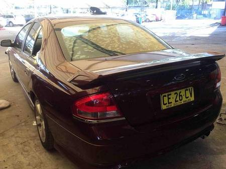 WRECKING 2003 FORD BA FALCON XT FOR PARTS