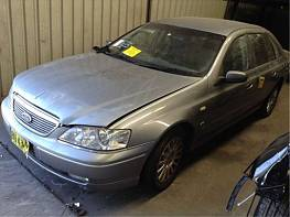 WRECKERS 2004 FORD BA FAIRLANE V8 FOR PARTS ONLY