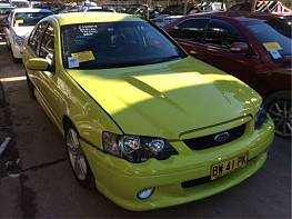 WRECKING 2004 FORD BA MKII FALCON XR8: 5.4L BOSS 260