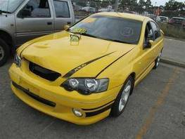 WRECKING 2005 YELLOW FORD BA MKII XR6