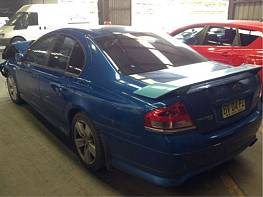 WRECKING  2005 FORD BF FALCON XR6