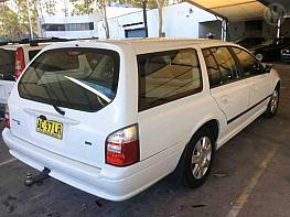 WRECKING 2005 FORD BA MKII FALCON XT FOR PARTS