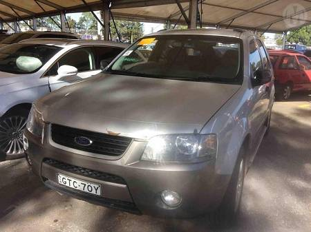 WRECKING 2005 FORD SX TERRITORY TX FOR PARTS