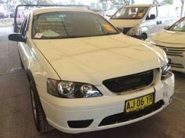 WRECKING 2006 FORD BF FALCON RTV UTE