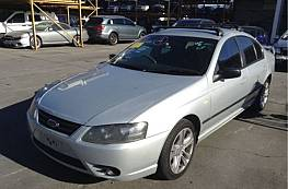 WRECKING 2007 FORD BF MKII FALCON XT, 4.0L FACTORY GAS FOR PARTS