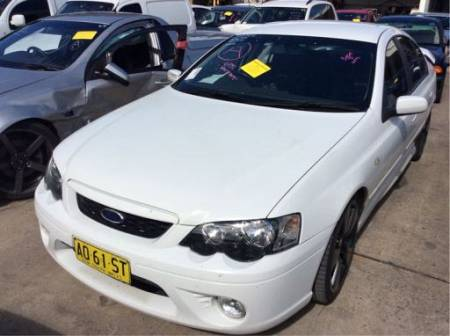 WRECKING 2007 FORD BF MKII XR6 TURBO