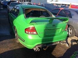 WRECKING 2007 FORD FPV BF MKII GT SEDAN: 5.4L BOSS 302