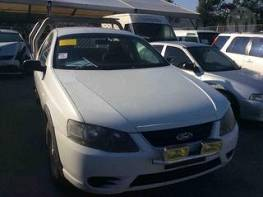 WRECKING 2007 FORD BF MKII FALCON RTV UTE