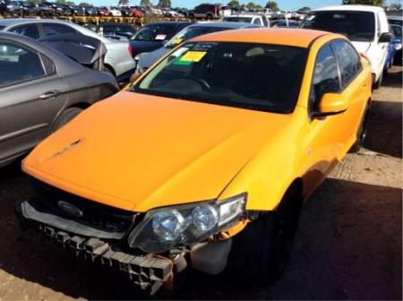 WRECKING 2008 FORD FG FALCON XR6 TURBO SEDAN