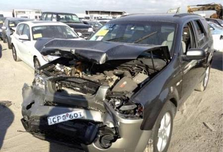 WRECKING 2008 FORD SY TERRITORY TS FOR PARTS