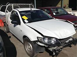 WRECKING 2009 FORD FG FALCON UTE WITH FACTORY GAS