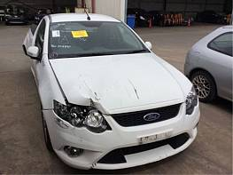 WRECKING 2009 FORD FG FALCON XR6 UTE