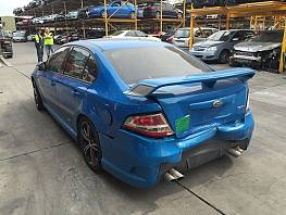 WRECKING 2010 FORD FPV FG GT