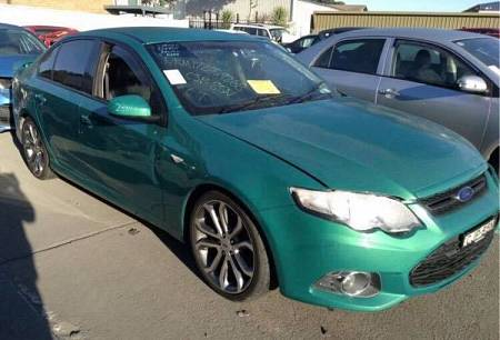 WRECKING 2013 FORD FG MKII FALCON XR6 TURBO LIMITED EDITION