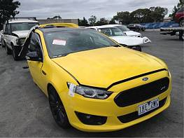 WRECKING 2016 FORD FGX FALCON XR8 SPRINT FOR PARTS ONLY