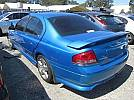 WRECKING 2005 FORD FALCON BA XR8 WITH 5.4L BOSS 260