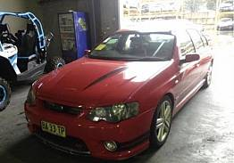 WRECKING 2004 FORD BA FPV GT FOR PARTS