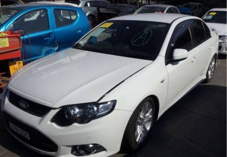 WRECKING 2014 FORD FG MKII FALCON XR6 TURBO