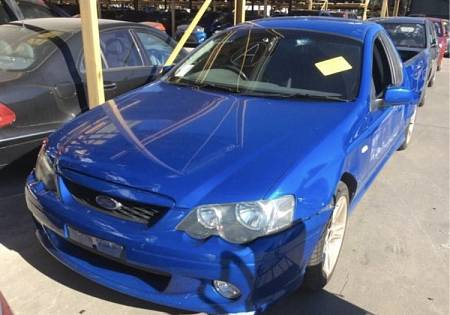 WRECKING 2005 FORD BA MKII FALCON XR6 UTE FOR UTE PARTS