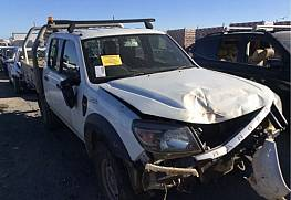 WRECKING 2010 FORD PK RANGER XL, 3.0L TURBO DIESEL