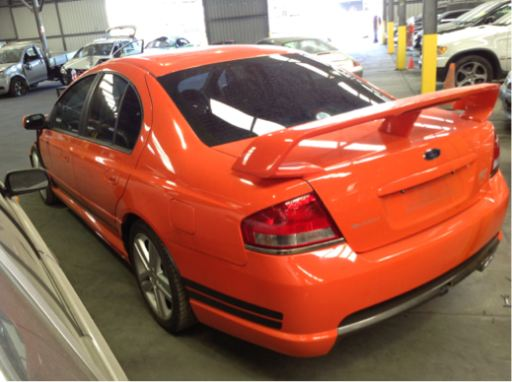 2003 fpv falcon gt sedan with fpv brakes � ford pro wreckers