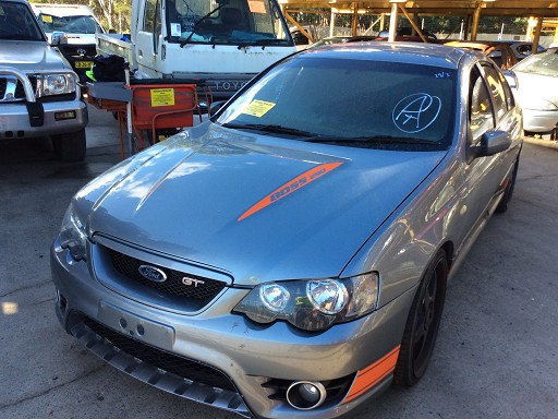 WRECKING 2007 FORD FPV GT SEDAN 54L BOSS 290 FOR PARTS