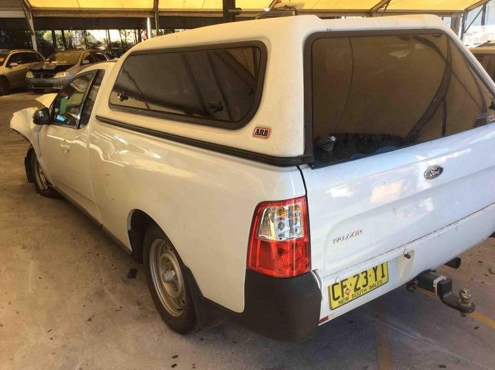 Wrecking 2008 Ford Fg Falcon Ute With Factory Gas Kit Ford Pro