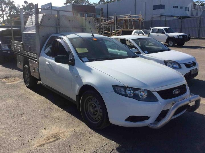 Wrecking 2010 Ford Fg Falcon Ute For Parts Ford Pro Wreckers