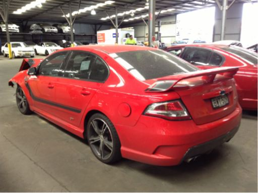 2011 Fpv Gt 335 Supercharged V8 Ford Pro Wreckers