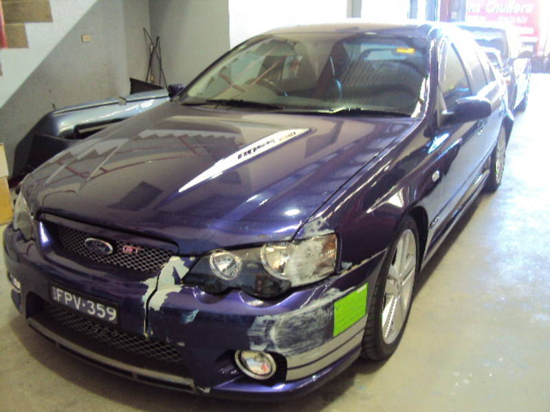 2005 Ford Falcon Fpv Gt Ba Mkii Boss 290 Ford Pro Wreckers