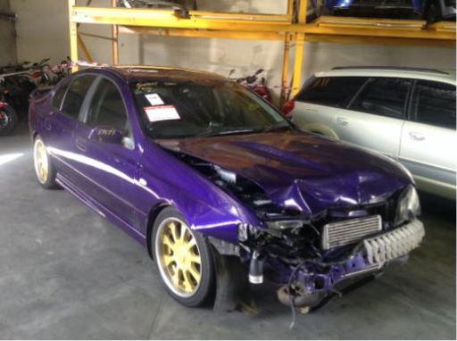 Wrecking  Ford Ba Falcon Xr Turbo Sedan