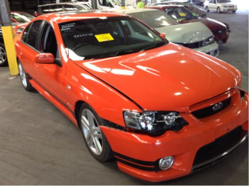 2003 Fpv Falcon Gt Sedan With Fpv Brakes Ford Pro Wreckers