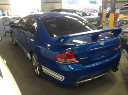 Wrecking 2005 Fpv Falcon Gt