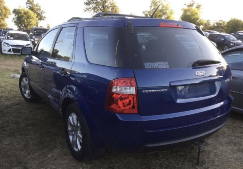 Wrecking 2008 Ford Sy Territory Sr For Parts Ford Pro