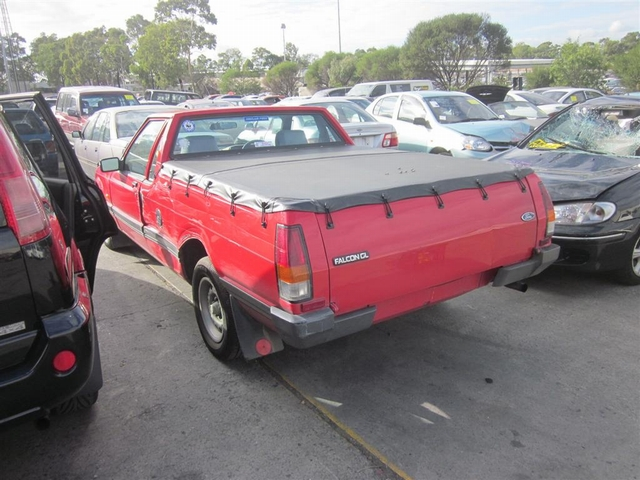1990 Ford Falcon Xf Ute  U2013 Ford Pro Wreckers