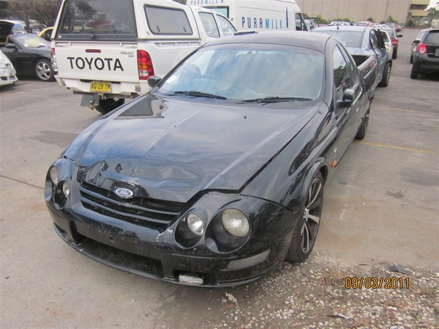 2000 Ford Au Falcon Xr6 Ute – Ford Pro Wreckers
